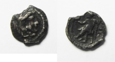 Ancient Coins - ALEXANDER THE GREAT SILVER OBOL