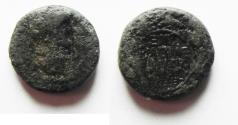 Ancient Coins - NEEDS CLEANING: Agrippa II under Nero. AE 14. Founding of Neronias.