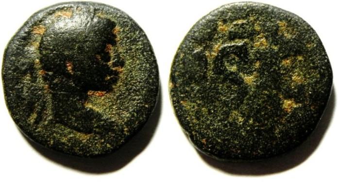 Ancient Coins - SYRIA , ANTIOCH , ELAGABALUS AE 18