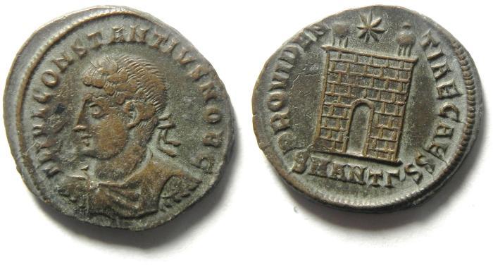 Ancient Coins - CHOICE CONSTANTIUS II AE 3