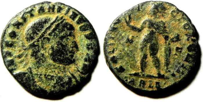 Ancient Coins - CONSTANTINE I AE FOLLIS, ALES