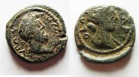 Ancient Coins - Judaea. Aelia Capitolina under Commodus (AD 177-192). AE 23mm, 9.53g.