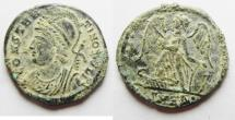 Ancient Coins - CONSTANTINE I AE 3 . COMMEMORATIVE ISSUE. CHOICE COIN AS FOUND