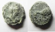 Ancient Coins - Palmyrene. Palmyra.  Pseudo-autonomous issue. 2nd-early 3rd centuries AD. AE 12mm, 1.43g. As Found