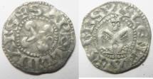World Coins - MEDIEVAL. France. Bishops of Valence. 12th-13th century. AR denier