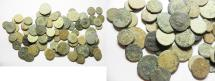 Ancient Coins - LOT OF 78 ROMAN AE COINS. AS FOUND