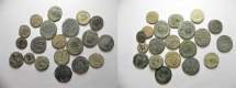 Ancient Coins - LOT OF 20 ROMAN AE COINS. NICE QUALITY AS FOUND