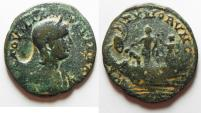 Ancient Coins - PHOENICIA, Tyre. Julia Maesa. Augusta, AD 218-224/5. Æ Trichalkon