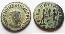Ancient Coins - BEAUTIFUL AS FOUND NUMERIAN ANTONINIANUS
