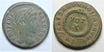 Ancient Coins - crispus ae 3 . rome mint
