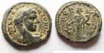 Ancient Coins - Syria, Seleucis and Pieria. Gabala. Elagabalus. A.D. 218-222. Æ 24