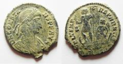 Ancient Coins - BEAUTIFUL CONSTANS AE CENT. AS FOUND. ROME MINT