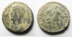 Ancient Coins - AS FOUND. CONSTANTIUS II AE CENT
