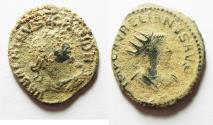 Ancient Coins - ORIGINAL DESERT PATINA: AURELIAN & VABALATHUS ANTONINIANUS