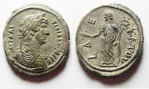 Ancient Coins - CHOICE QUALITY: EGYPT. ALEXANDRIA. HADRIAN BILLON TETRADRACHM
