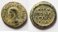 Ancient Coins - NICE AS FOUND. CRISPUS AE 3