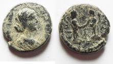 Ancient Coins - JUDAEA, Gaza. Julia Domna. Augusta, 193-217 CE. Æ 20