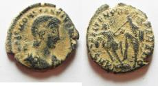Ancient Coins - CONSTANTIUS GALLUS AE 3 . NICE DESERT PATINA