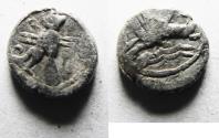 Ancient Coins - Phoenicia, Tyre. Ca. 360-332 B.C. AR obol.