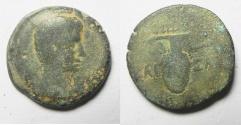 Ancient Coins - ROMAN PROVINCIAL. EGYPT. ALEXANDRIA UNDER AUGUSTUS (27 BC-AD 14). AE DIOBOL