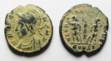 Ancient Coins - BEAUTIFUL ORIGINAL DESERT PATINA. CONSTANTINE I AE 3 . COMMEMORATIVE.