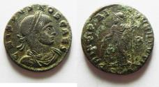 Ancient Coins - CRISPUS AE 3 . SCARACE