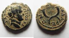 Ancient Coins - DECAPOLIS. GADARA. TITUS. BEAUTIFUL AS FOUND