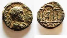 Ancient Coins - Samaria. Antipatris under Elagabalus ( AD 218-222). AE 21mm, 6.90g.