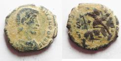 Ancient Coins - CONSTANTIUS GALLUS AE CENT. DESERT PATINA. AS FOUND