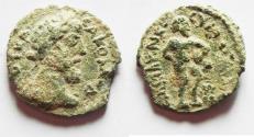 Ancient Coins - CHOICE AS FOUND: Decapolis. Abila, Commodus (177 - 192 AD). AE 26