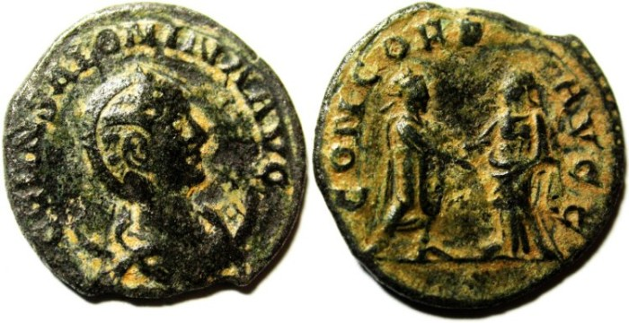 Ancient Coins - SALONINA Wife of Gallienus. BILLON ANTONINIANUS