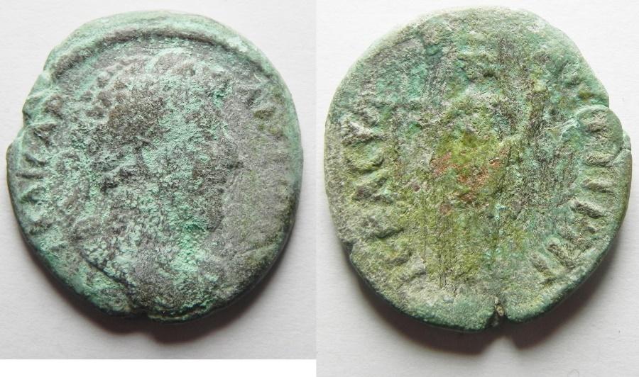 Ancient Coins - Syria. Antioch ad Hippum, Lucius Verus. AD 161-169, AE23