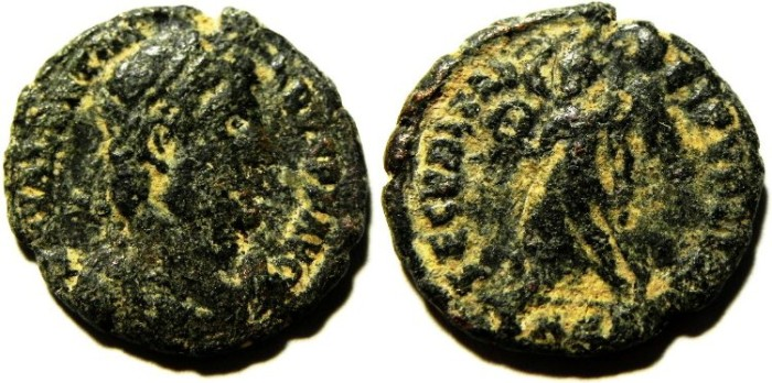Ancient Coins - VALENTINIAN AE 3