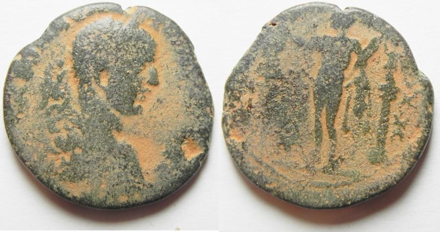 Ancient Coins - Phoenicia. Tyre. Elagabalus. AE 27