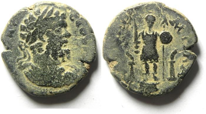 Ancient Coins - ARABIA , RABATH MOBA , SEPTEMUS SEVERUS AE 27