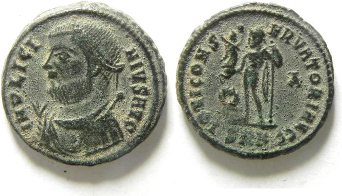 Ancient Coins - LICINIUS I AE FOLLIS , CHOICE