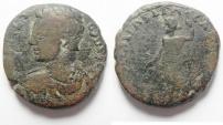 Ancient Coins - Judaea. Aelia Capitolina under Geta (AD 209-212 BC). AE 23mm, 11.85g