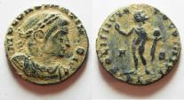 Ancient Coins - ORIGINAL DESERT PATINA. CONSTANTINE I AE FOLLIS.