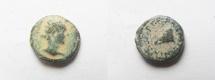 Ancient Coins - JUDAEA, Caesarea Panias. Pseudo-autonomous issue. temp. Marcus Aurelius & Lucius Verus, AD 161-169. Æ13