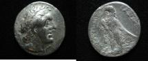 Ancient Coins - Ptolemaic kings. Ptolemy II Philadelphos (282-246 BC). AR tetradrachm. Tyre mint. Struck c. 274 BC.