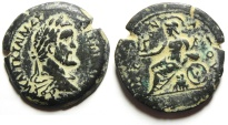 Ancient Coins - Egypt. Alexandria under Antoninus Pius (AD 138-161). AE drachm. Struck in regnal year 9 (AD 145/6).