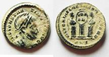Ancient Coins - 	BEAUTIFUL AS FOUND CONSTANTINE I AE 3