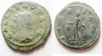 Ancient Coins - GALLIENUS AE ANTONINIANUS AS FOUND