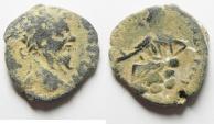 Ancient Coins - ARABIA , PETRA , SEPTIMIUS SEVERUS AE 23