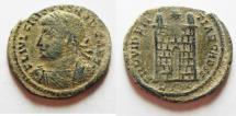 Ancient Coins - AS FOUND. CRISPUS AE 3 . ROME MINT