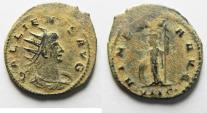 Ancient Coins - BEAUTIFUL AS FOUND GALLIENUS ANTONINIANUS
