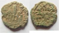 Judaea, Procurators. Pontius Pilate AD 26-36, under Tiberius AD 14-37. AE Prutah