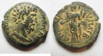 Ancient Coins - Egypt. Alexandria under Aelius Caesar AE diobol (23mm, 8.68g) Struck AD 137.