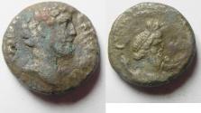 Ancient Coins -  Egypt. Alexandria under Antoninus Pius (AD 138-161). Billon tetradrachm (22mm, 10.71g).