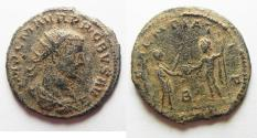 Ancient Coins - PROBUS AE ANTONINAIANUS. AS FOUND